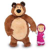 Masha y el oso - Muñeca y peluche
