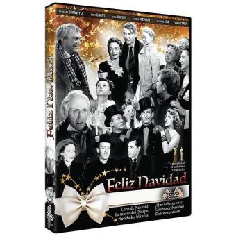 Pack Colección Feliz Navidad (La Mujer del Obispo, Cuento de Navidad, Qué bello es vivir, Dulce evocación) - DVD