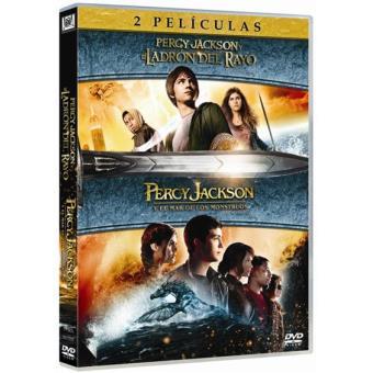 Pack Percy Jackson y el ladrón del rayo + Percy Jackson y el mar de los monstruos - DVD