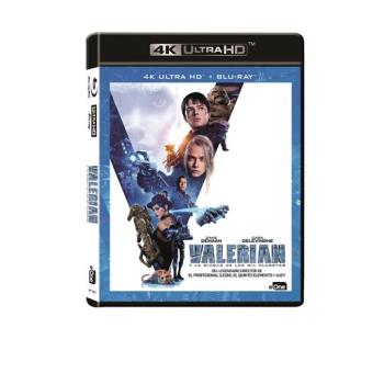 Valerian y la ciudad de los mil planetas - UHD + Blu-Ray