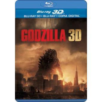 Godzilla - Blu-Ray + 3D