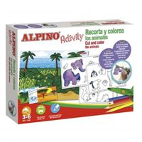Alpino activity - Recorta y colorea