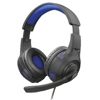 Headset gaming Trust GXT 307B Ravu Negro/Azul