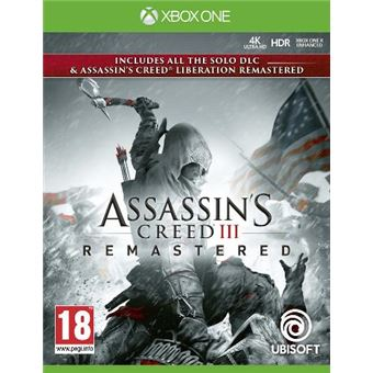 Assassin's Creed III Remastered  Xbox One