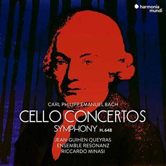Bach - Cello Concertos - Symphony H.648