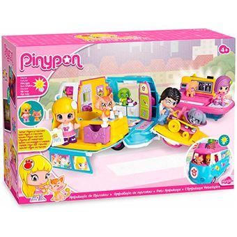 Famosa Pinypon Ambulancia de mascotas