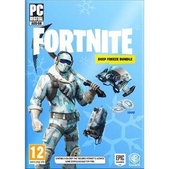 Fortnite: Lote de Criogenización PC