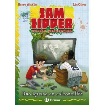 Sam Zipper. Una iguana en calzoncillos