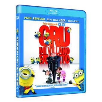 Gru, mi villano favorito - Blu-Ray + 3D