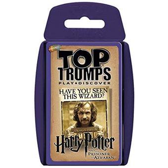 Cartas Top Trumps Harry Potter y el prisionero de Azkaban