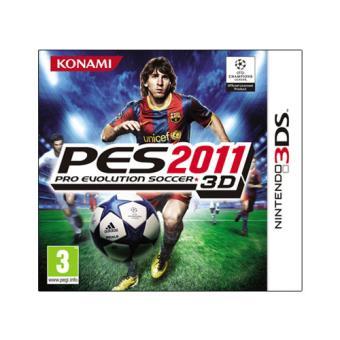 Pro Evolution Soccer PES 2011 3D Nintendo 3DS
