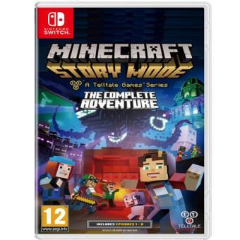 Minecraft Story Mode Nintendo Switch Para Los Mejores Videojuegos