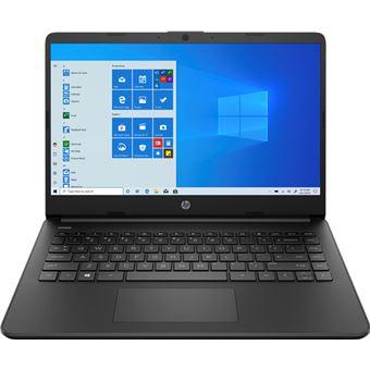 Portátil HP Laptop 14s-fq0002ns 14'' Negro