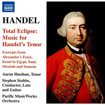 Handel - Total Eclipse - Music For Handel's Tenor