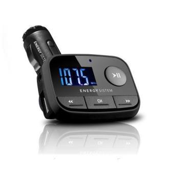 Energy Sistem F2 MP3 de Coche Black