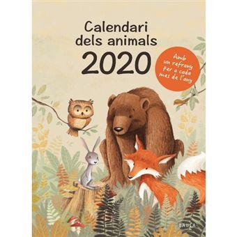 El calendari dels animals 2020