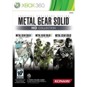 Metal Gear Solid HD Collection Xbox 360