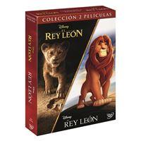 Pack El Rey León - 1994 + 2019 - DVD