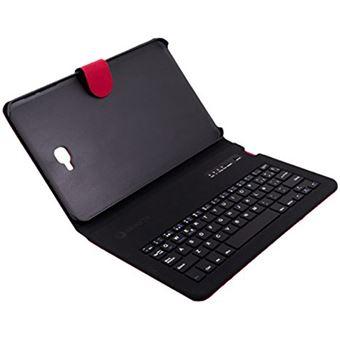 Funda SilverSanz Samsung para TAB A 10,1'' Rojo con teclado Bluetooth