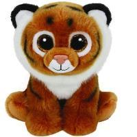 Peluche Beanie Boos Tigre marrón (23 cm)