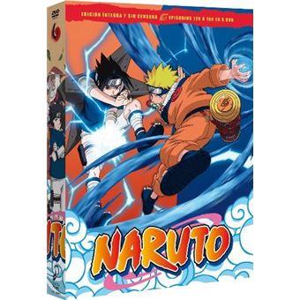Naruto - Box 6 Episodios 126 a 150 - DVD