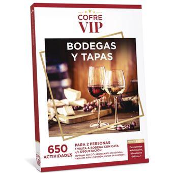 Caja regalo CofreVIP Bodegas y tapas