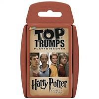 Cartas Top Trumps Harry Potter y el Cáliz de Fuego