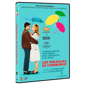 Los paraguas de Cherburgo - V.O.S. - Ed restaurada - DVD