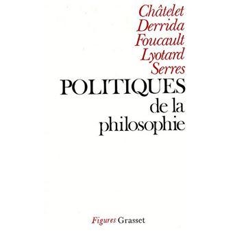 Politiques de la philosophie
