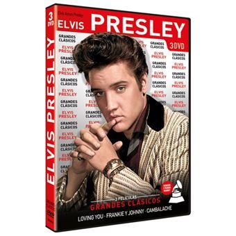 Pack Elvis Presley - 3 DVDs
