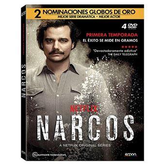 Narcos  Temporada 1 - DVD