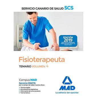 Fisioterapeuta del Servicio Canario de Salud - Temario volumen 4