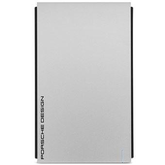 Disco duro externo portátil LaCie Porsche Design Mobile 2,5'' 1TB USB3.0 Plata