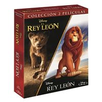 Pack El Rey León - 1994 + 2019 - Blu-Ray