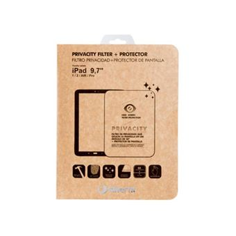 Protector de pantalla con filtro de privacidad SilverSanz para iPad Para iPad de 9,7''