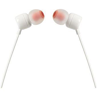 Auriculares JBL T110 Blanco