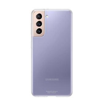 Funda Samsung Clear Cover Transparente para Galaxy S21