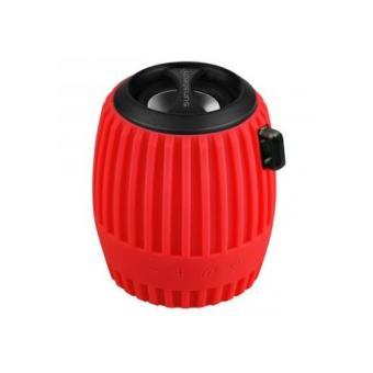 Altavoz bluetooth Sunstech SPBTFM630 rojo