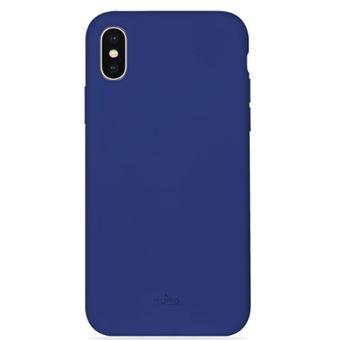 Funda Puro Cover Icon para iPhone X/Xs Azul