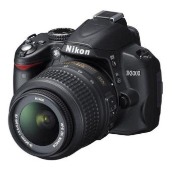 Nikon D3000 Kit (18-55 MM VR+ Bolsa+ Libro+2 Tarjetas SD 2GB) Reflex Digital