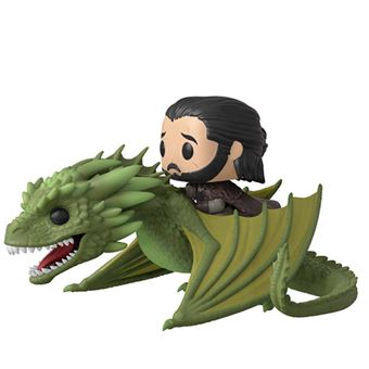 Figura Funko Juego de tronos - Jon Snow con dragón Rhaegal