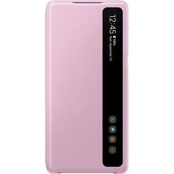 Funda Samsung Clear View Violeta para Galaxy S20 FE