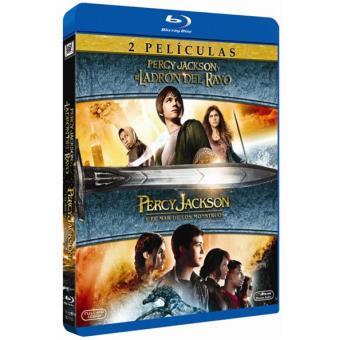 Pack Percy Jackson y el ladrón del rayo + Percy Jackson y el mar de los monstruos - Blu-Ray