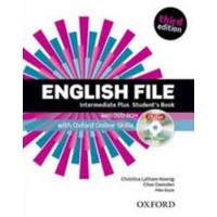 English file . Intermediate Plus Student's Book + Workbook + key pack