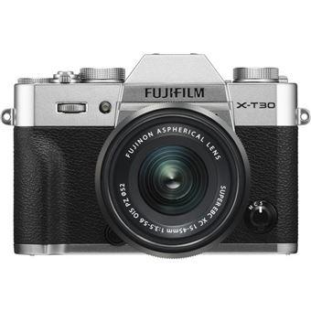 Cámara EVIL Fujifilm  X-T30 + 15-45 mm Plata
