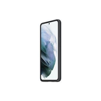 Funda de silicona Samsung Negro para Galaxy S21