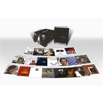 Box Set Serrat - Discografía en castellano - 20 CD
