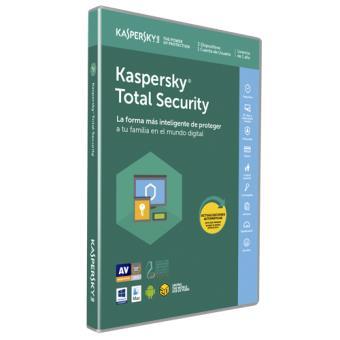 Antivirus Kaspersky Total Security Multidevice 2018 3 licencias 1 año