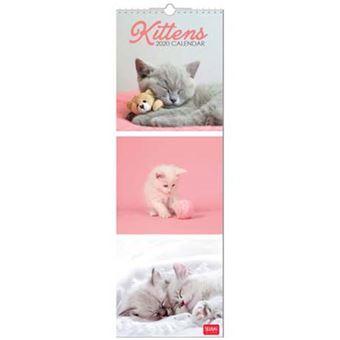 Calenadio 2020 Legami Kittens - 16x49cm