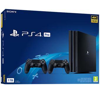 Consola PS4 Pro 1TB + 2 DualShock